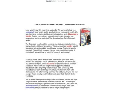 The Scarsdale Low-Carb Diet